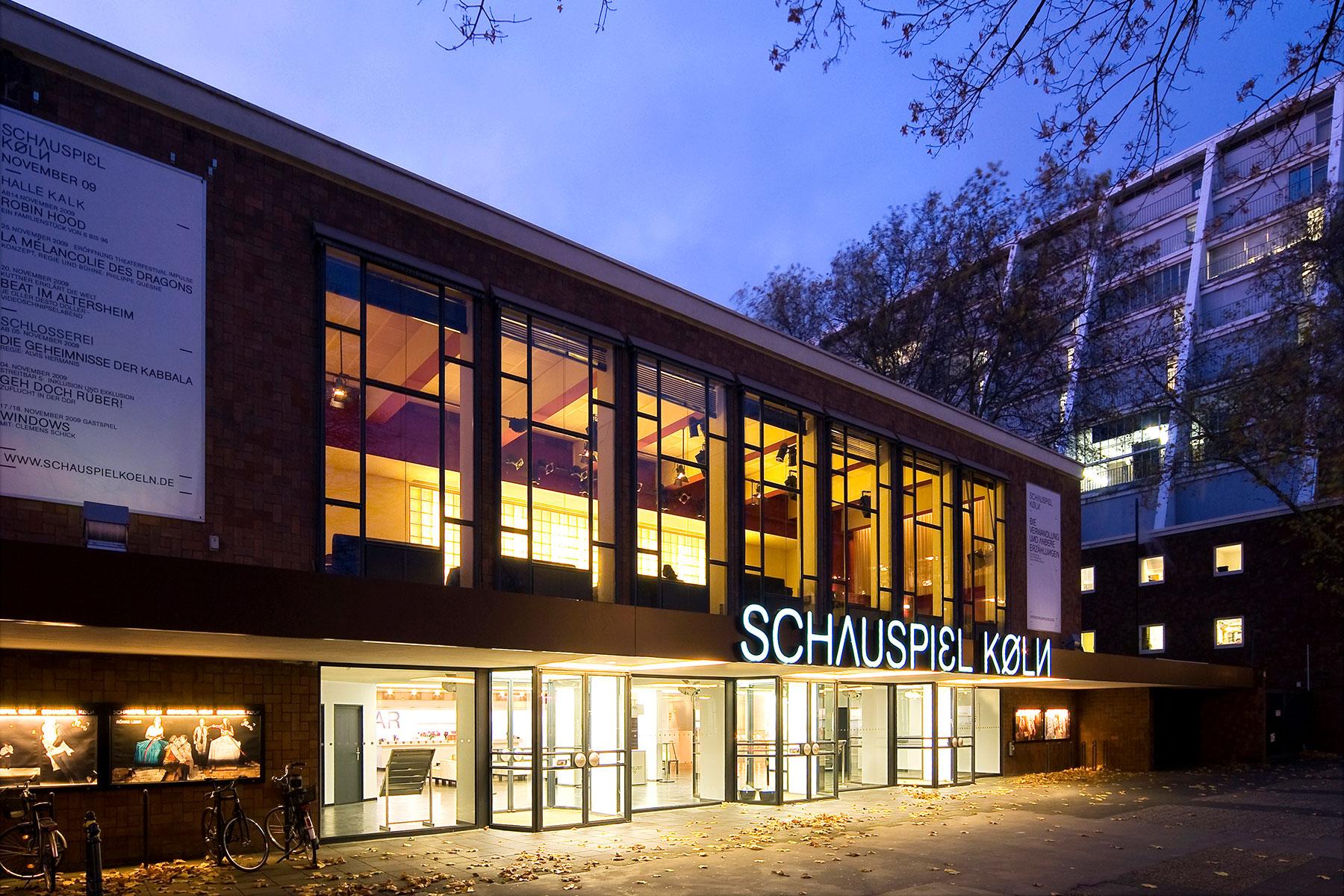 Schauspiel Köln Beschriftung