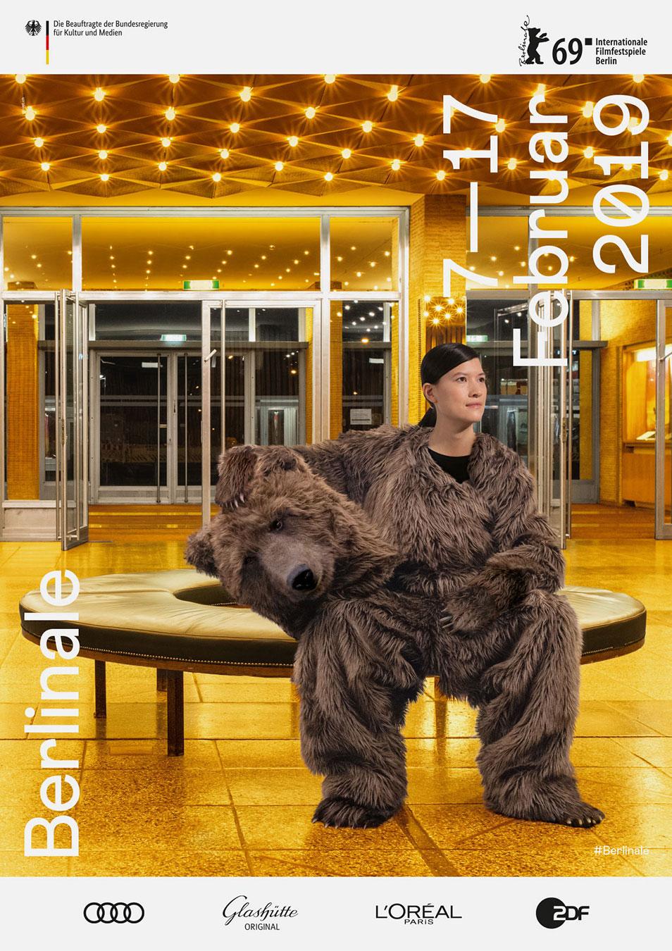 Berlinale 2019 Keyvisual Plakat Werbung