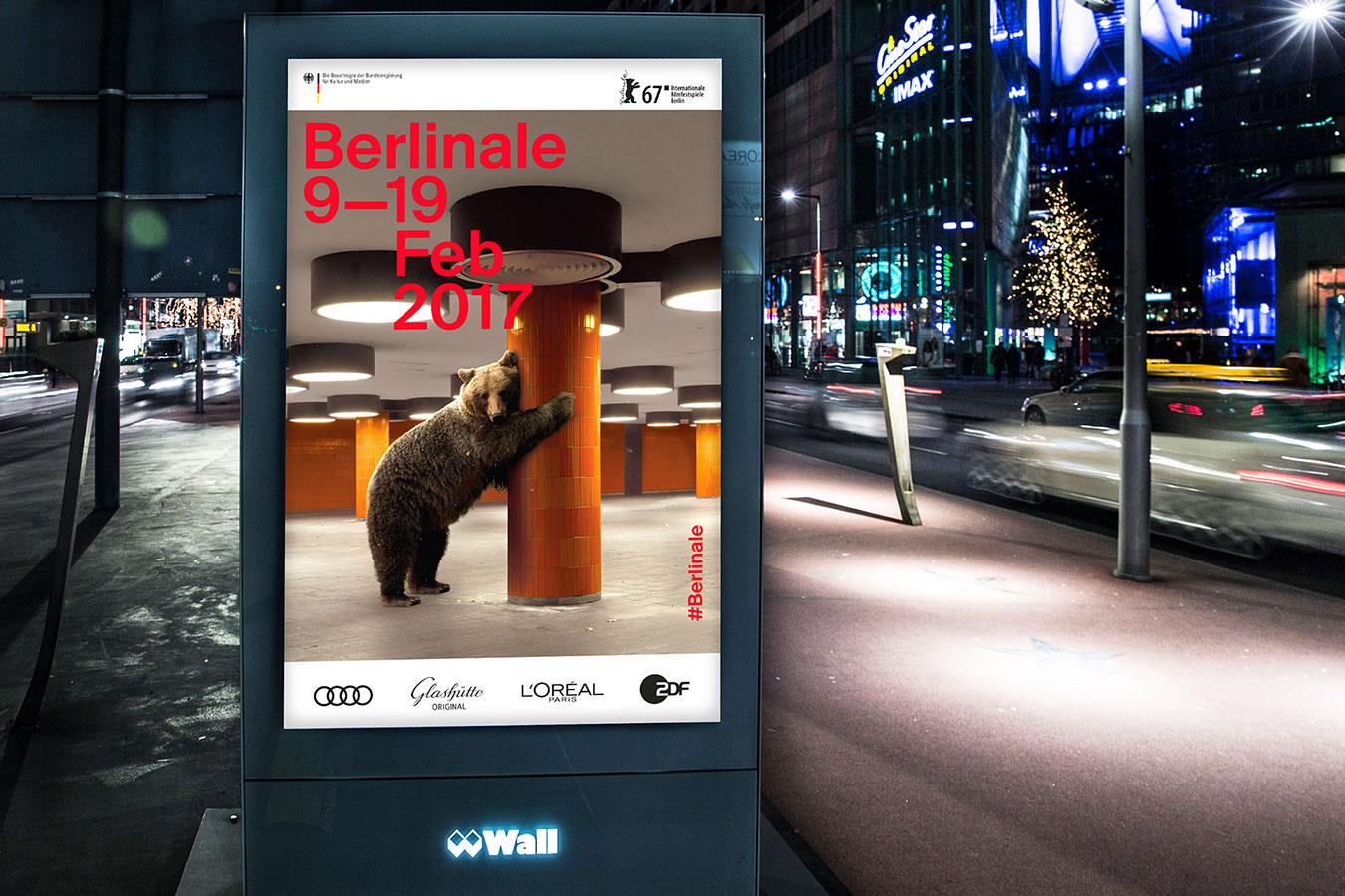 Berlinale 2017 Keyvisual Plakat Werbung
