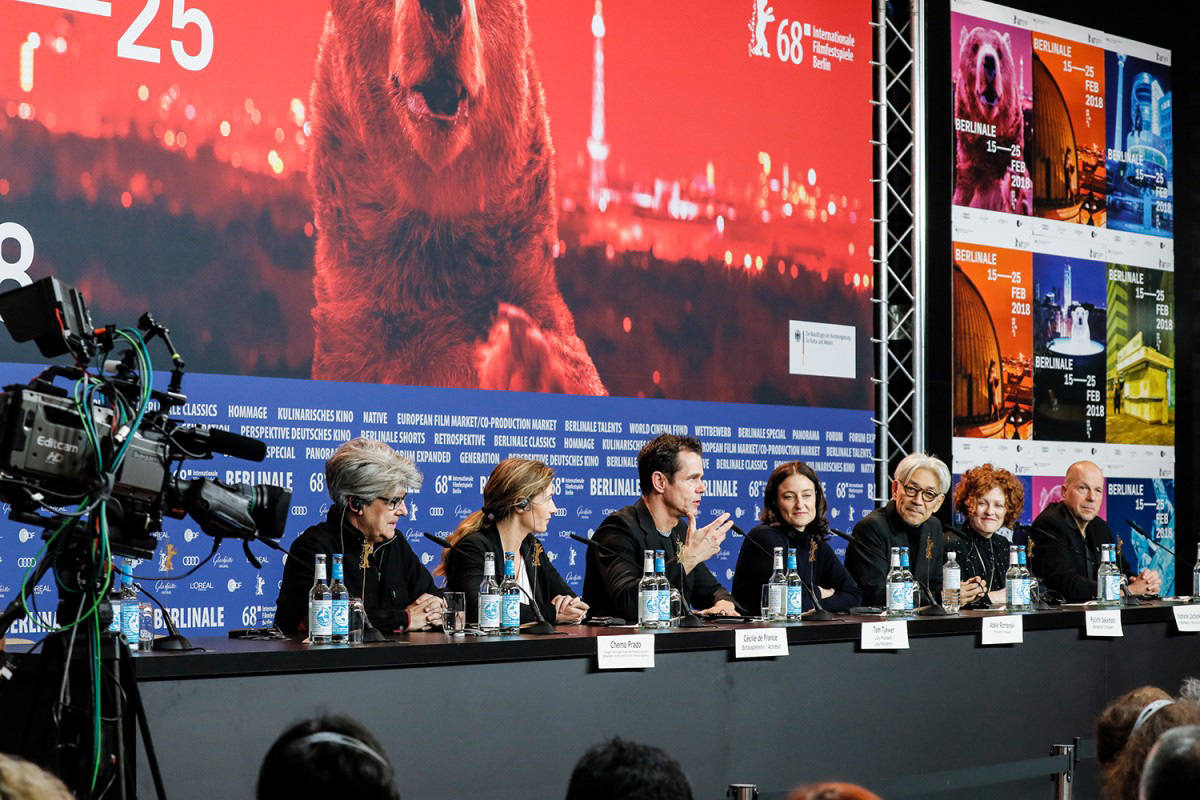 Berlinale 18 Pressehintegrund Keyvisual