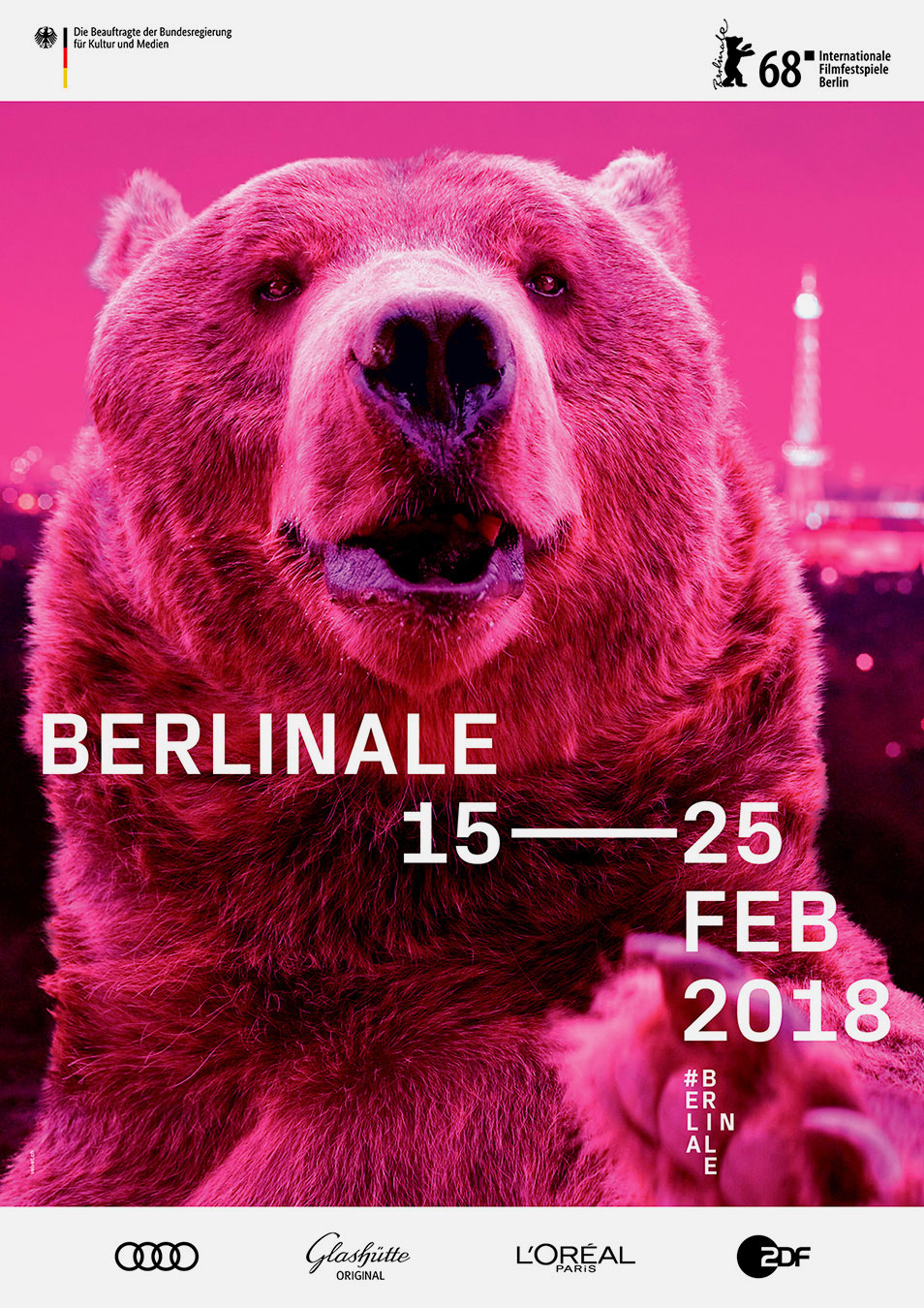 Berlinale Plakat 2018 Keyvisual Design