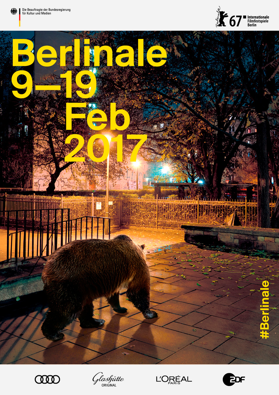 Berlinale Plakat 2017 Keyvisual Design