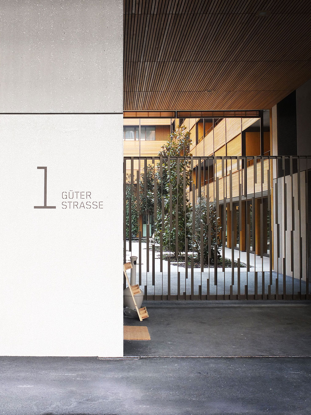 Citybay Luzern Signaletik Aussen Eingang