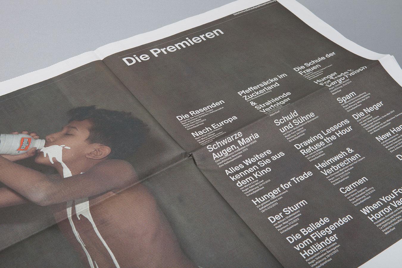 Deutsches Schauspielhaus Hamburg Zeitung