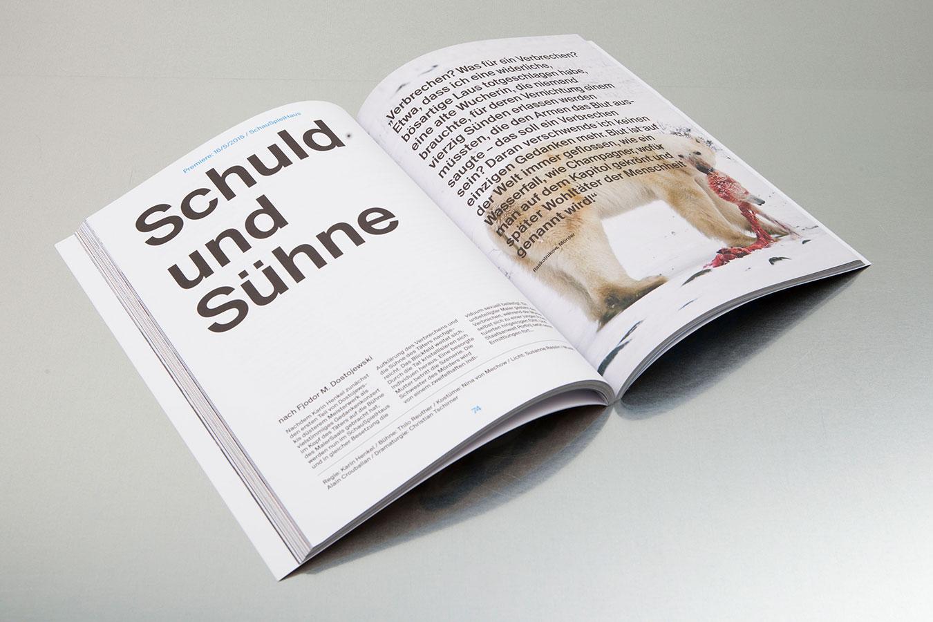 Deutsches Schauspielhaus Hamburg Spielzeitbuch 2014