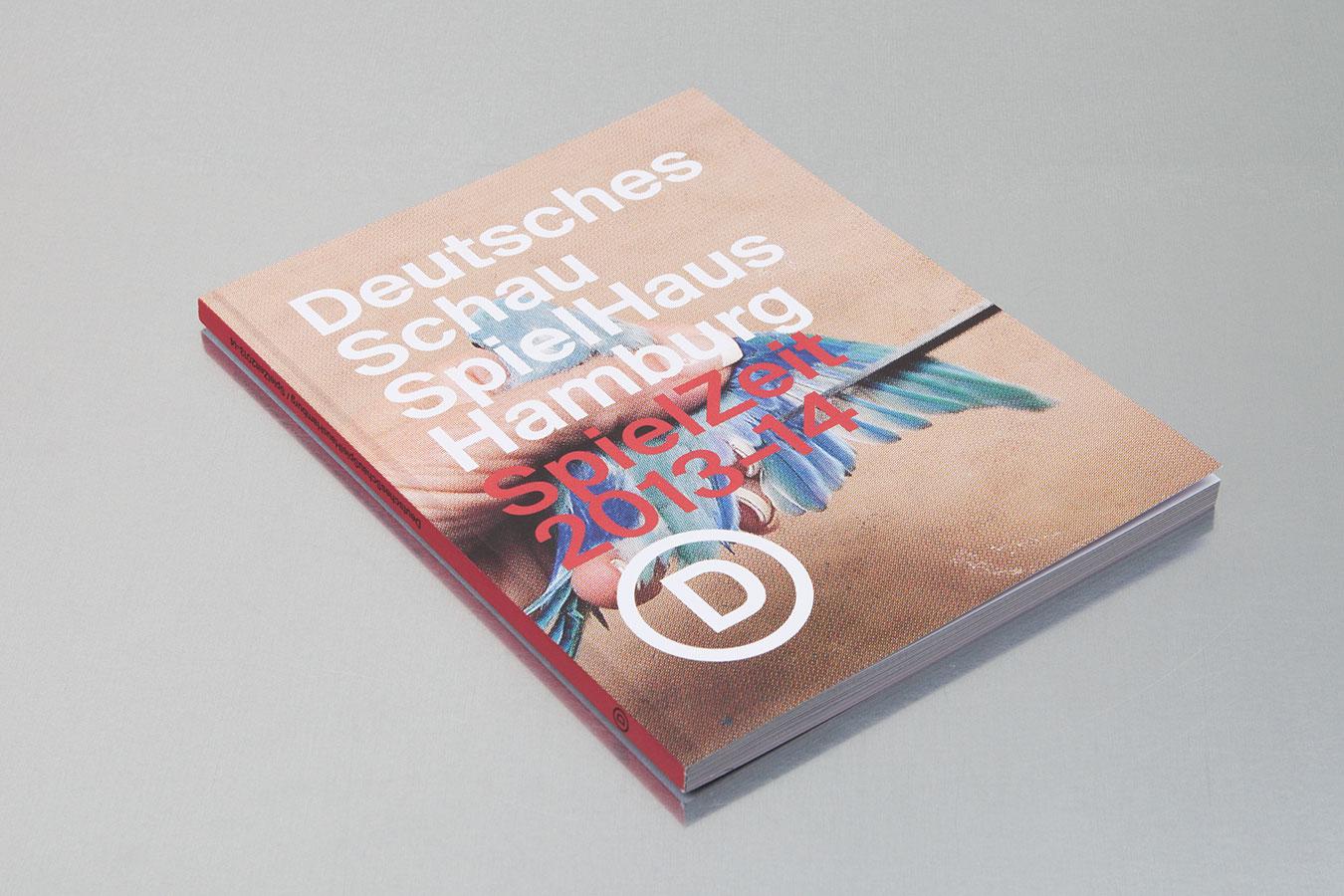 Deutsches Schauspielhaus Hamburg Spielzeitbuch 2013