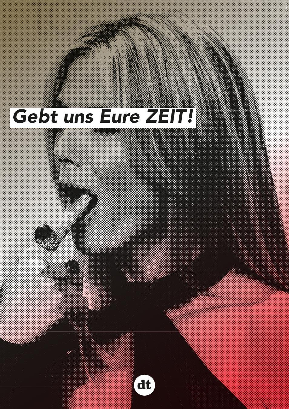 Deutsches Theater Berlin Plakat Spielzeit 14/15 Werbung