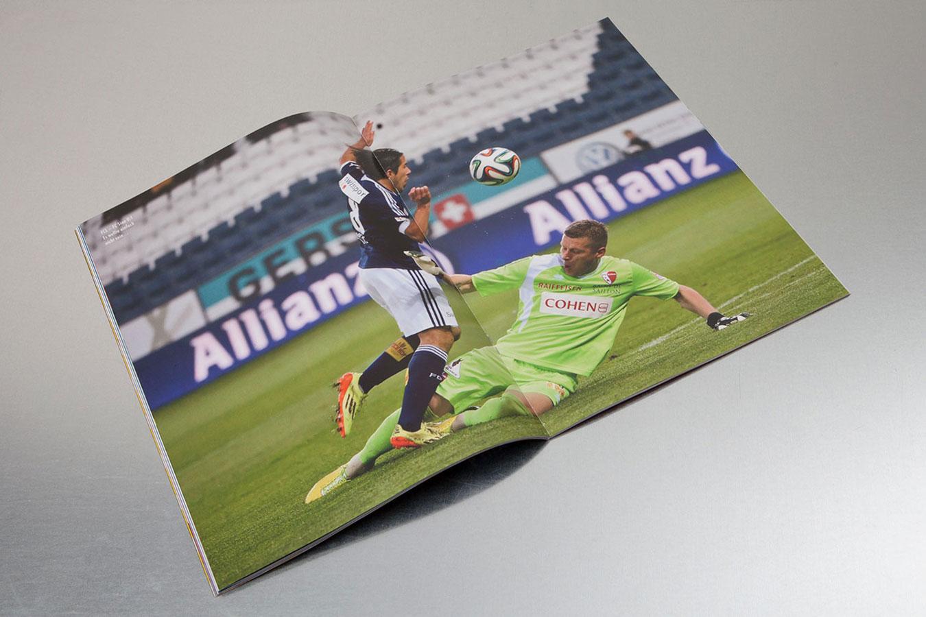 FCL Matchzeitung Publishing
