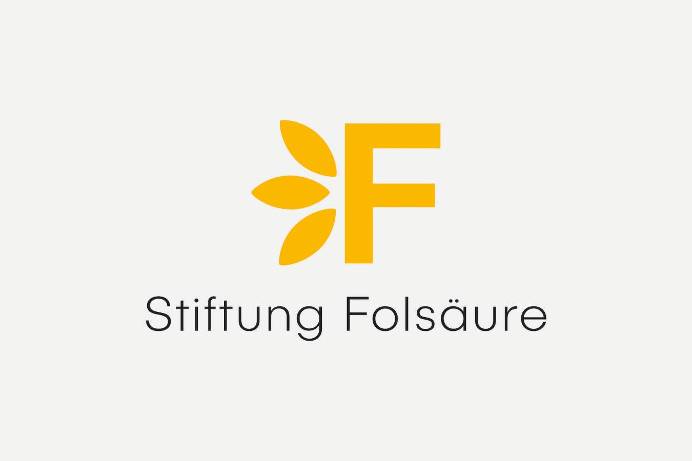Stiftung Folsäure Logo Corporate Design