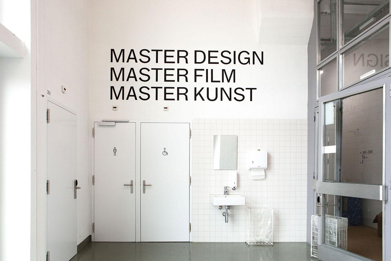 Viscosistadt Hochschule Luzern Design und Kunst Signaletik 745 Innen