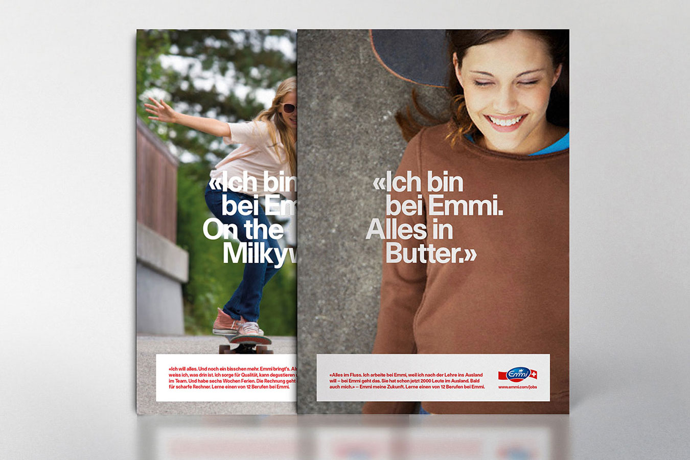 Emmi Postkarten Berufsbildung Employer Branding