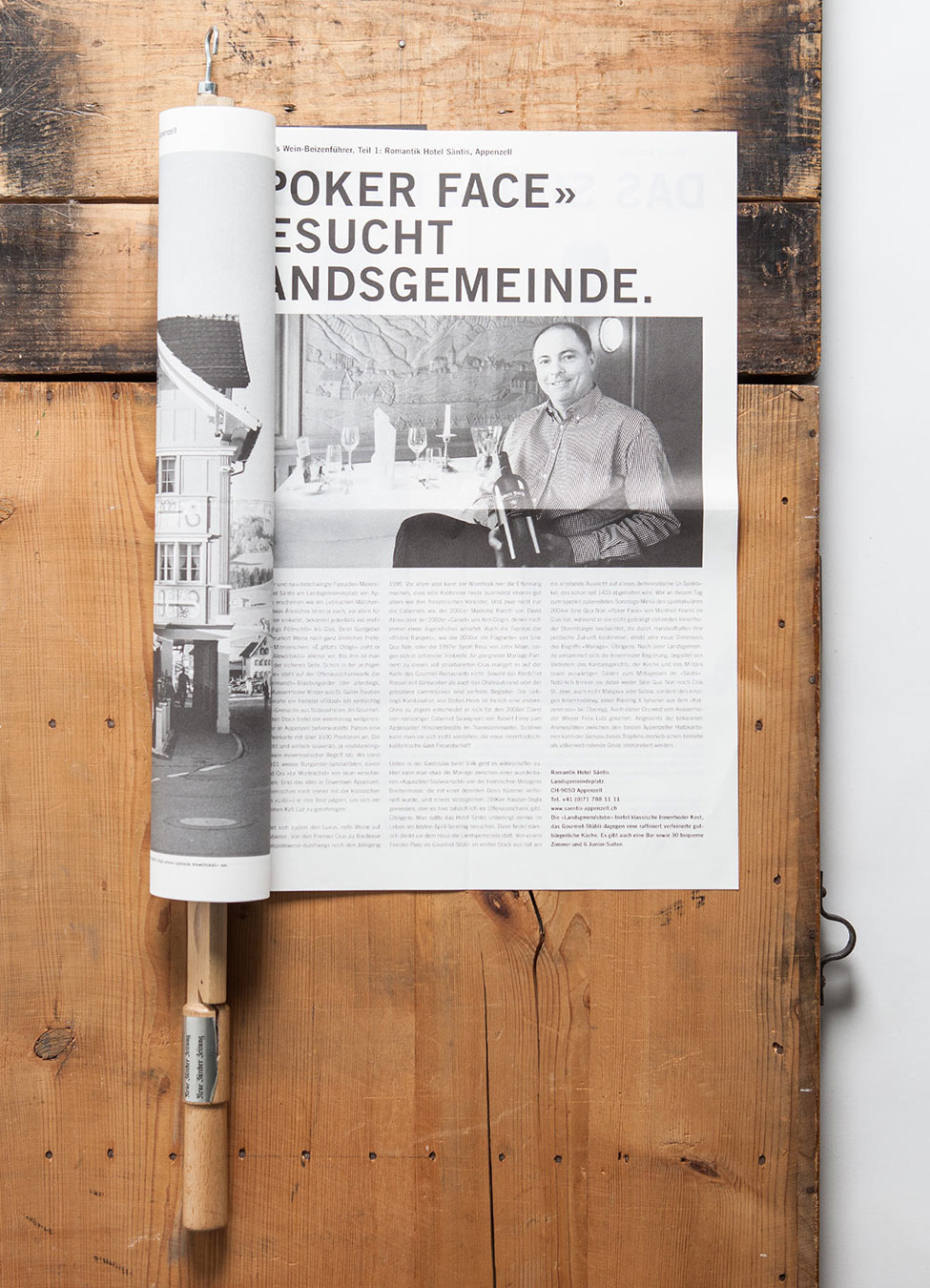 Carl Studer Vinothek Gazette Publishing Branding Corporate Design