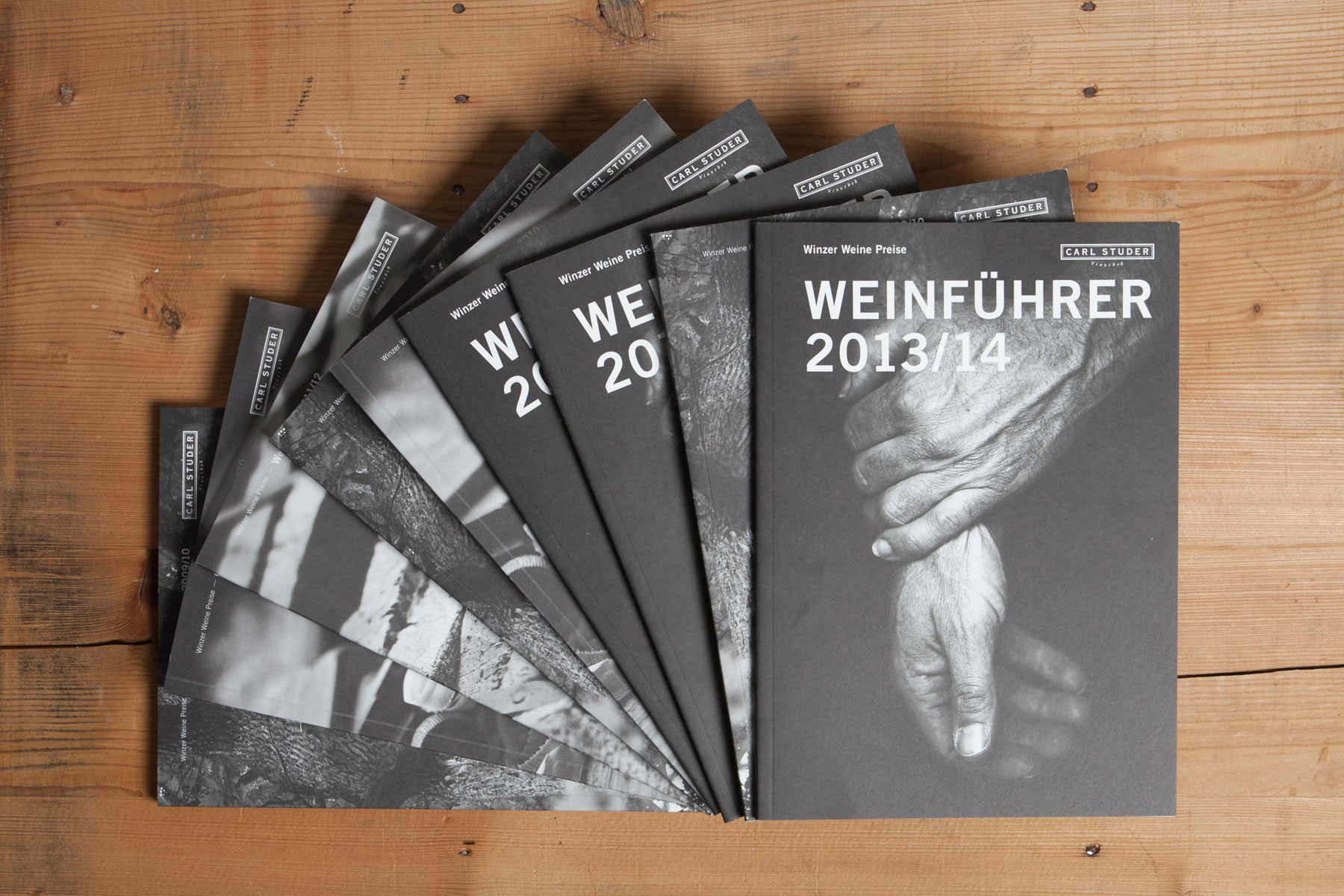 Carl Studer Vinothek Weinführer Publishing Branding Corporate Design