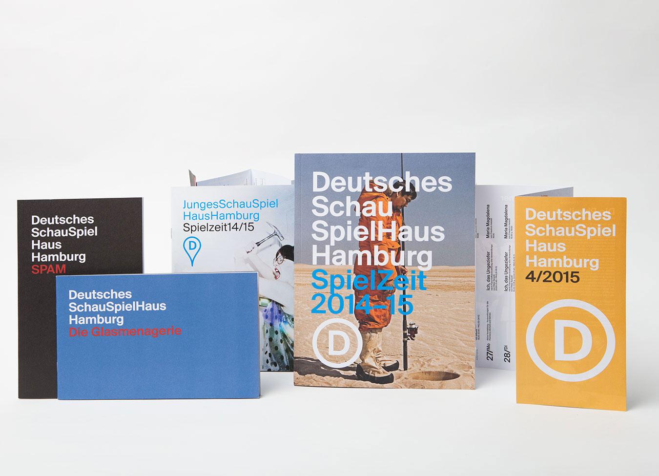 Deutsches Schauspielhaus Hamburg Printprodukte