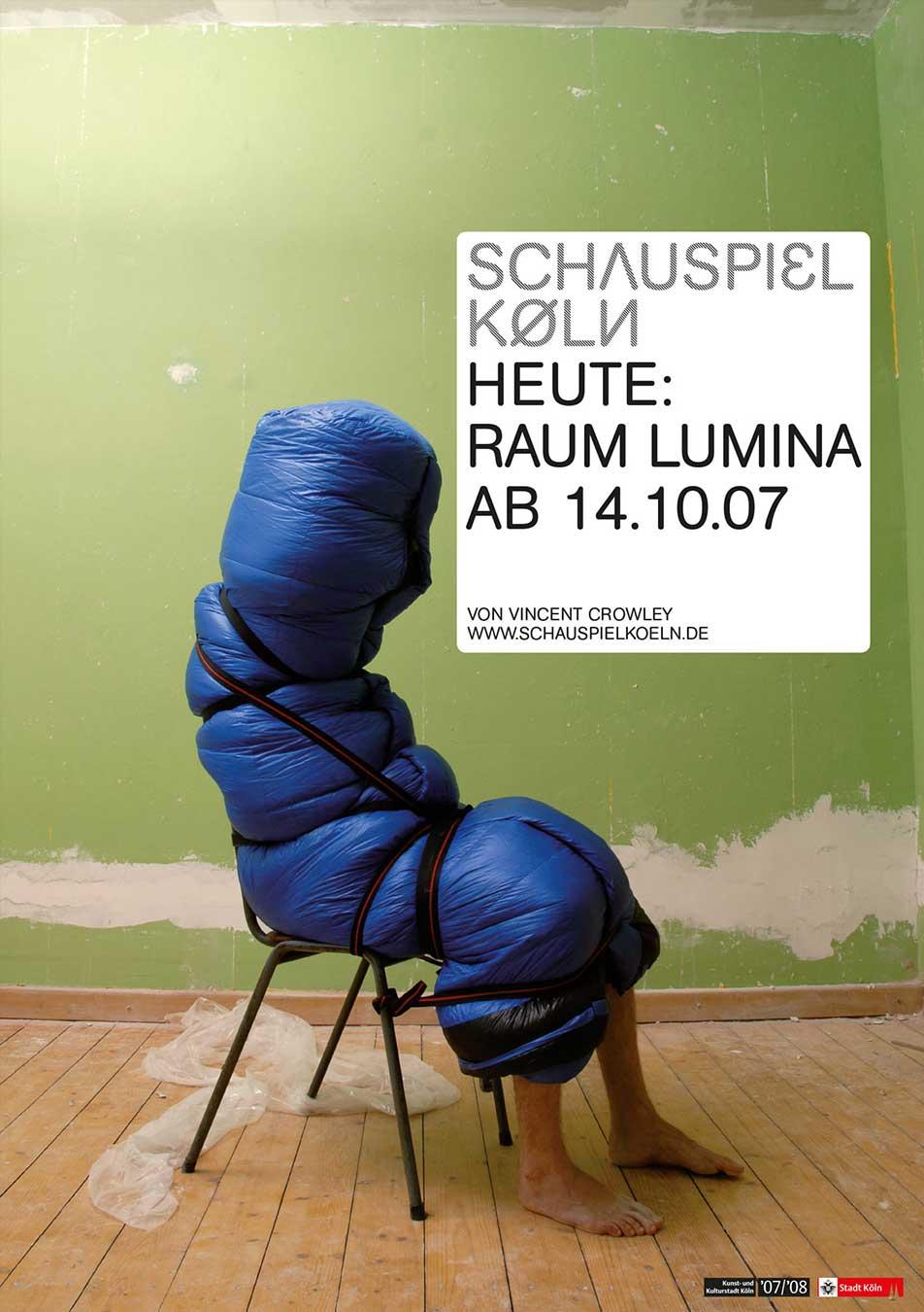 Schauspiel Köln Plakat 2007 Kampagne