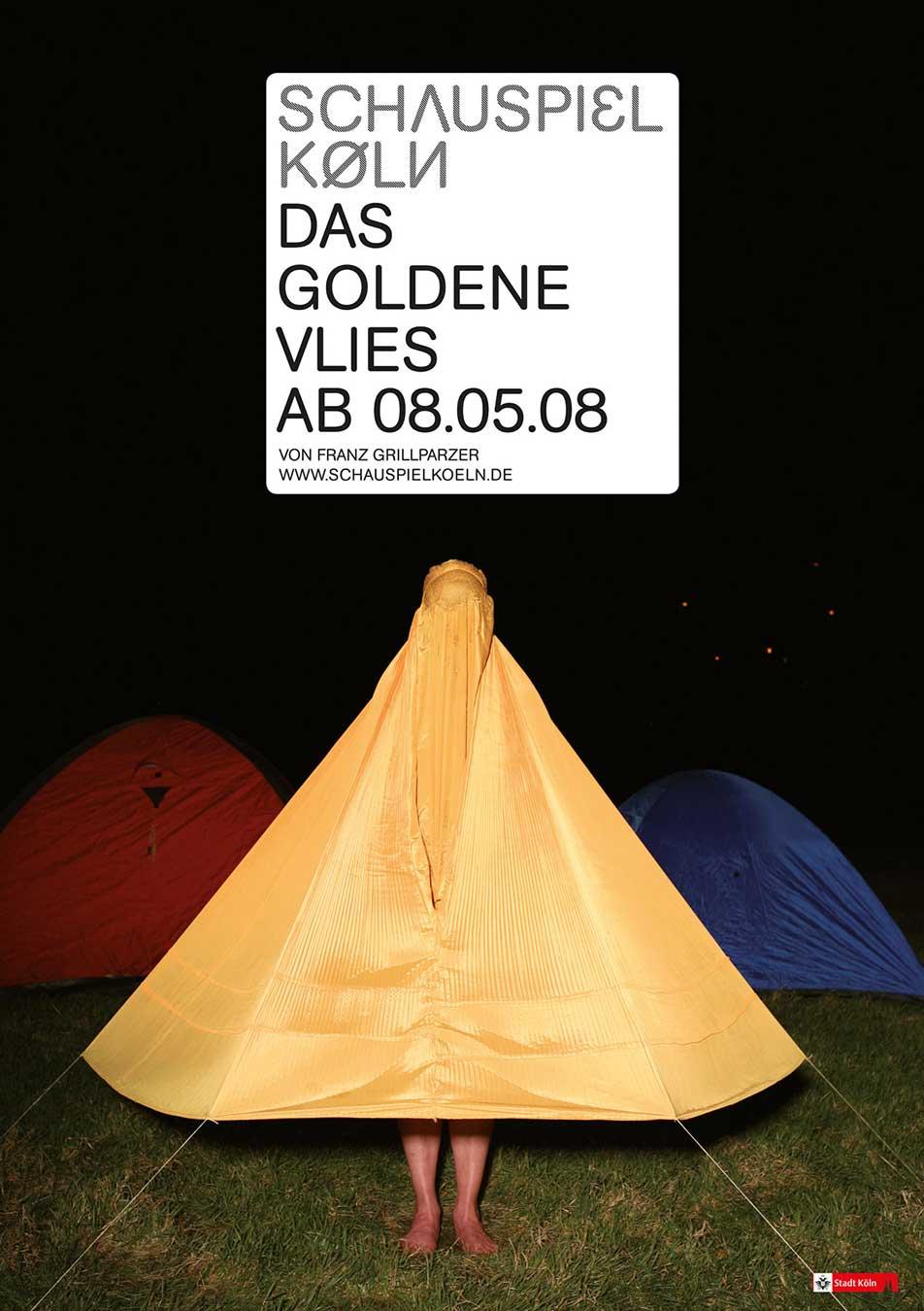 Schauspiel Köln Plakat 2008 Kampagne
