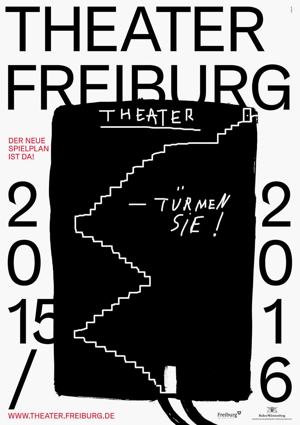 Theater Freiburg Abo Plakatkampagne