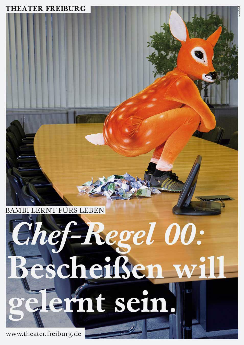 Theater Freiburg Bambi macht Theater Keyvisual Werbung