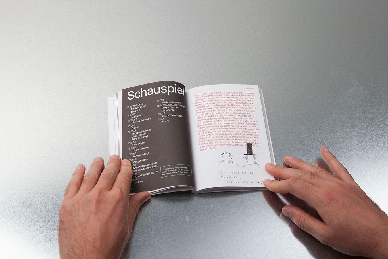 Theater Freiburg Spielzeitbuch Content