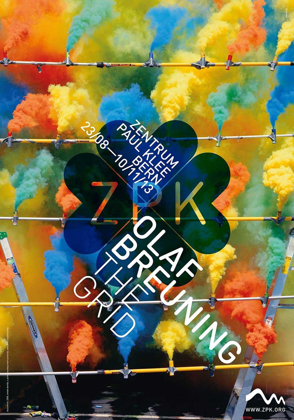 Zentrum Paul Klee Plakat Werbung