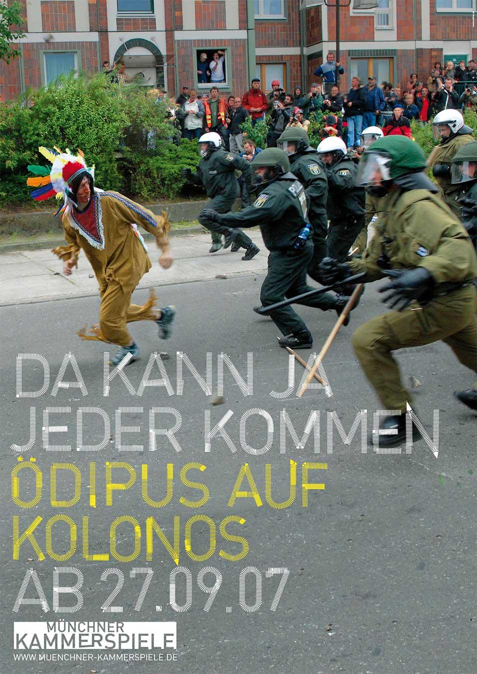 Münchner Kammerspiele Plakat 2008 Kampagne