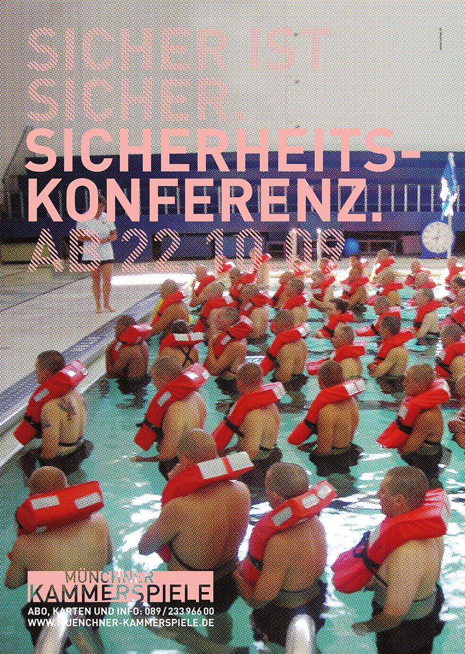 Münchner Kammerspiele Plakat 2010 Kampagne