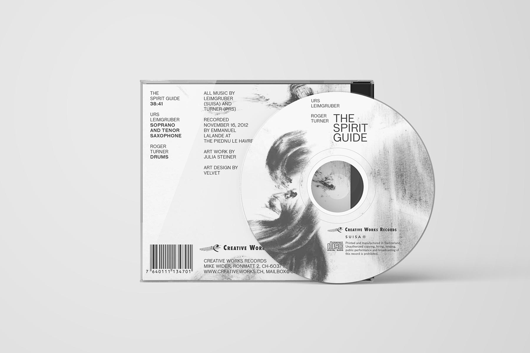 Urs Leimgruber CD Spirit Guide