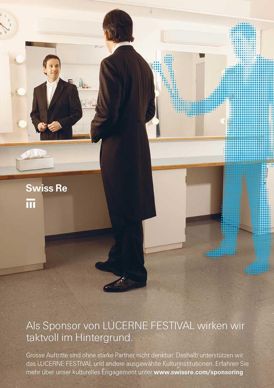 SwissRe Inserat Kultur Werbung