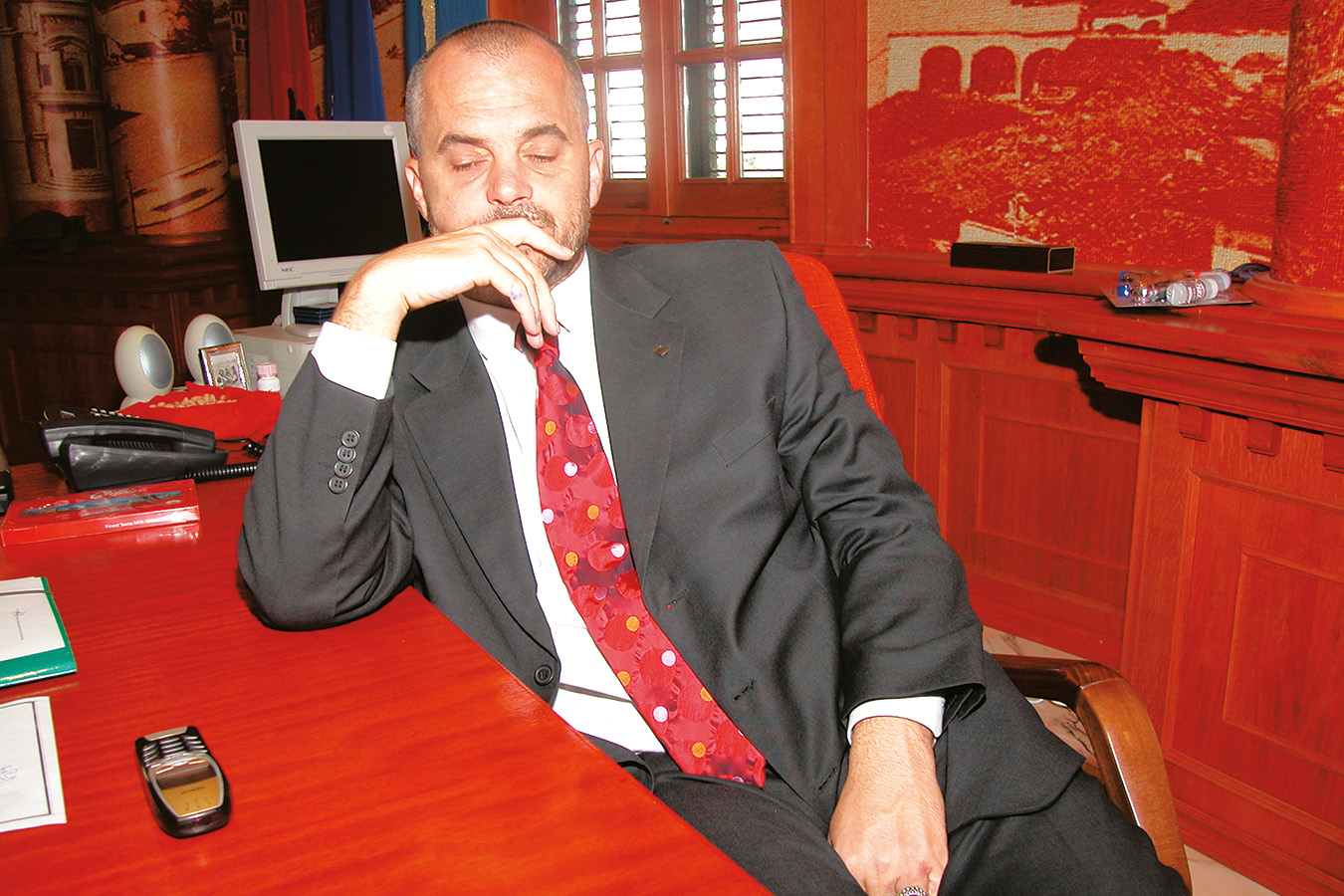 Tirana Edi Rama Bürgermeister