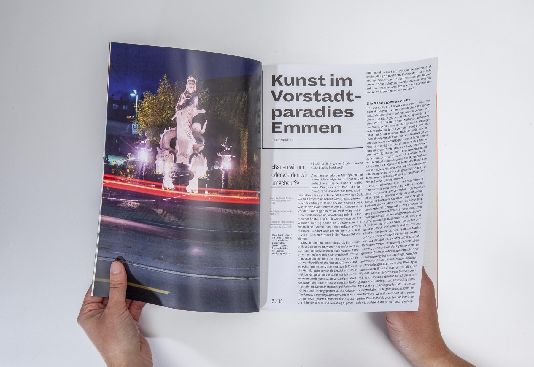 Hochschule Luzern Design und Kunst Magazin Nummer 6 Corporate Publishing