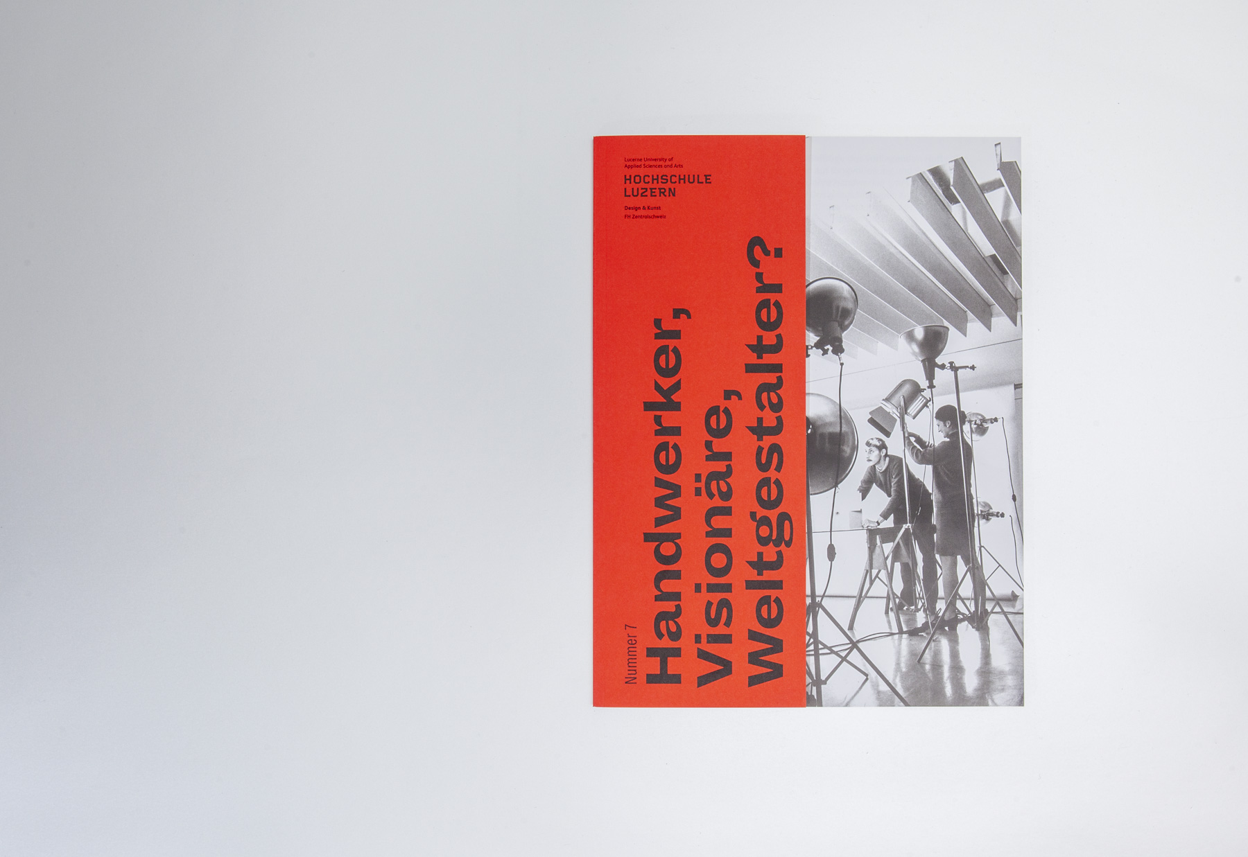 Hochschule Luzern Design und Kunst Magazin Nummer 7 Corporate Publishing