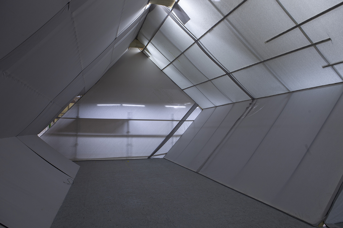 Gletschergarten Szenografie Felsgang Modell Prototyp Viscosistadt