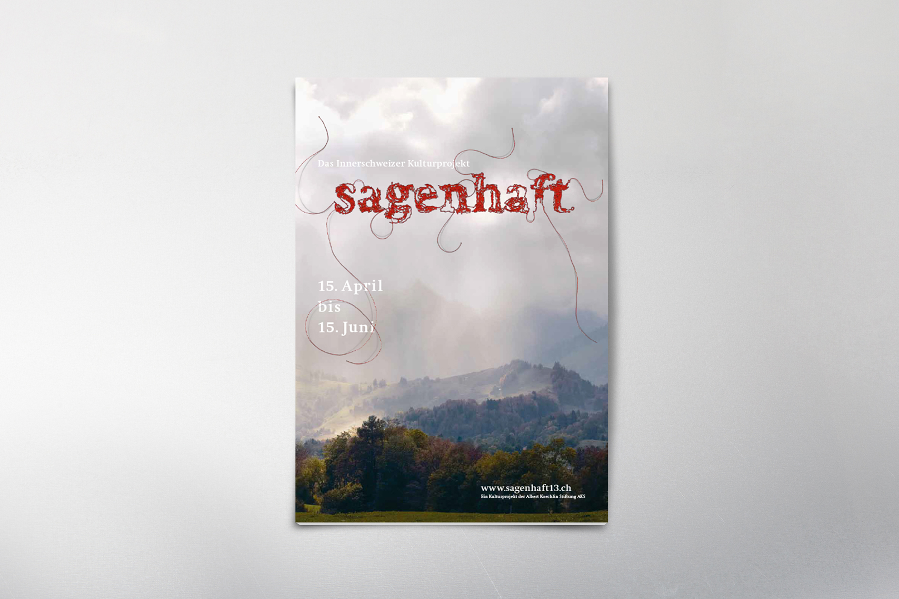 Albert Köchlin Stiftung Sagenhaft Editorial Broschüre