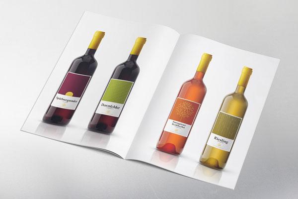 Andreas Oster Weine Webseite Prospekt Werbung