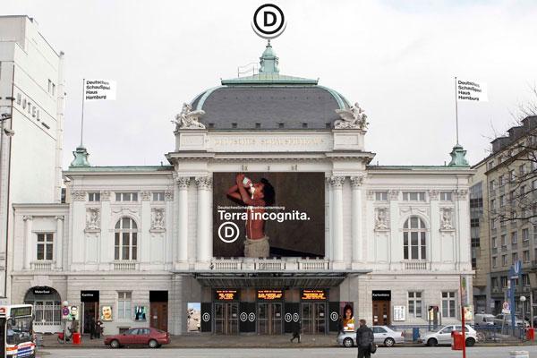 Deutsches Schauspielhaus Hamburg Kampagne Werbung