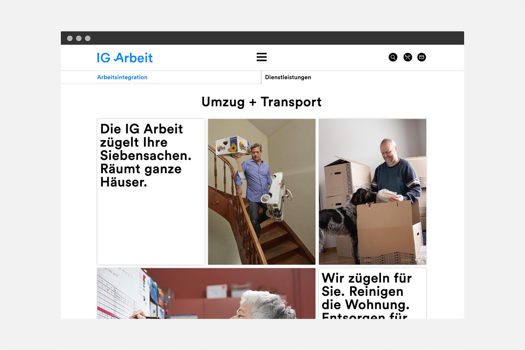 IG Arbeit Webseite Velvet Interaction Design
