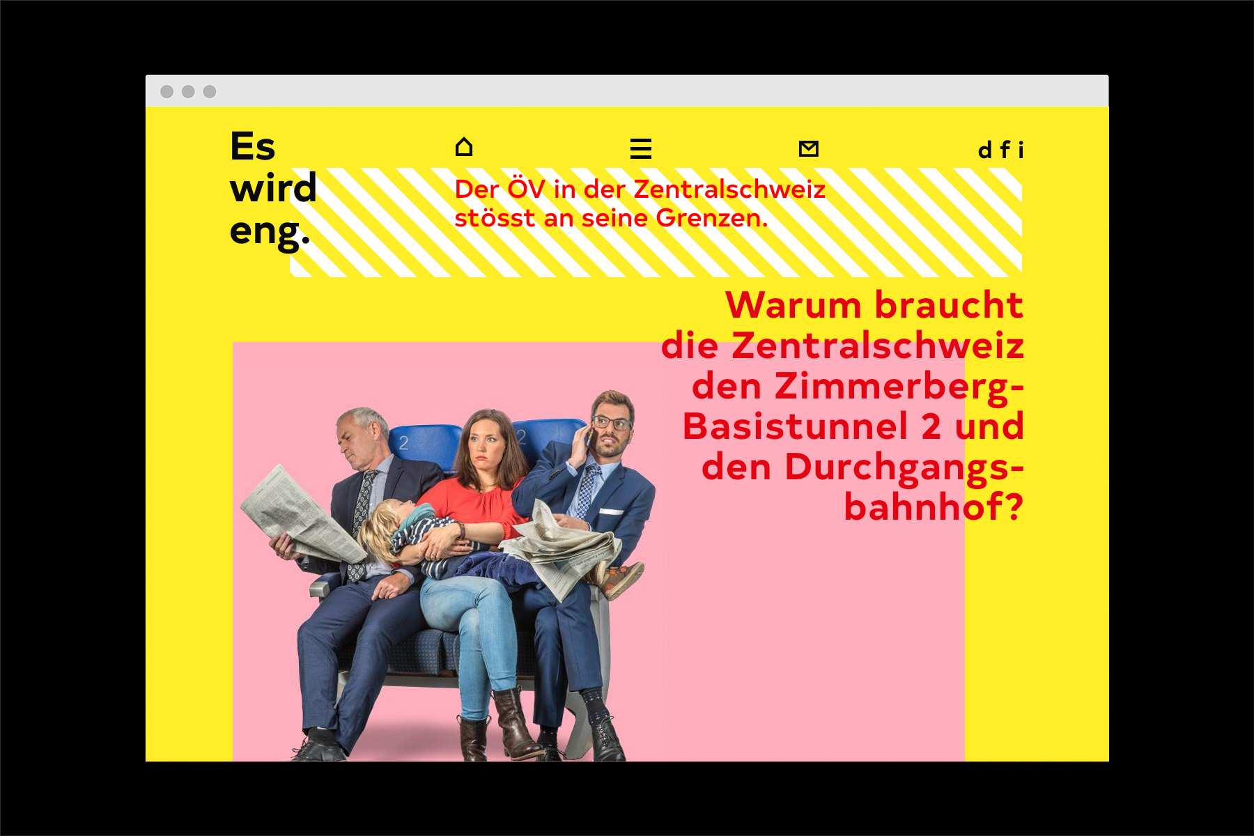 Durchgangsbahnhof Luzern Es wird Eng Webseite