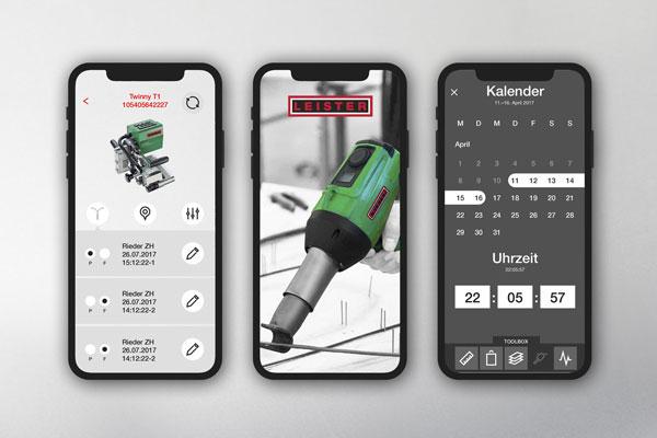 Leister AG App UX