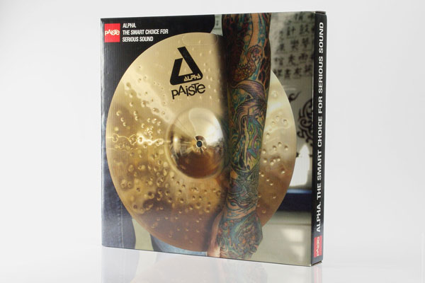 Paiste Verpackung