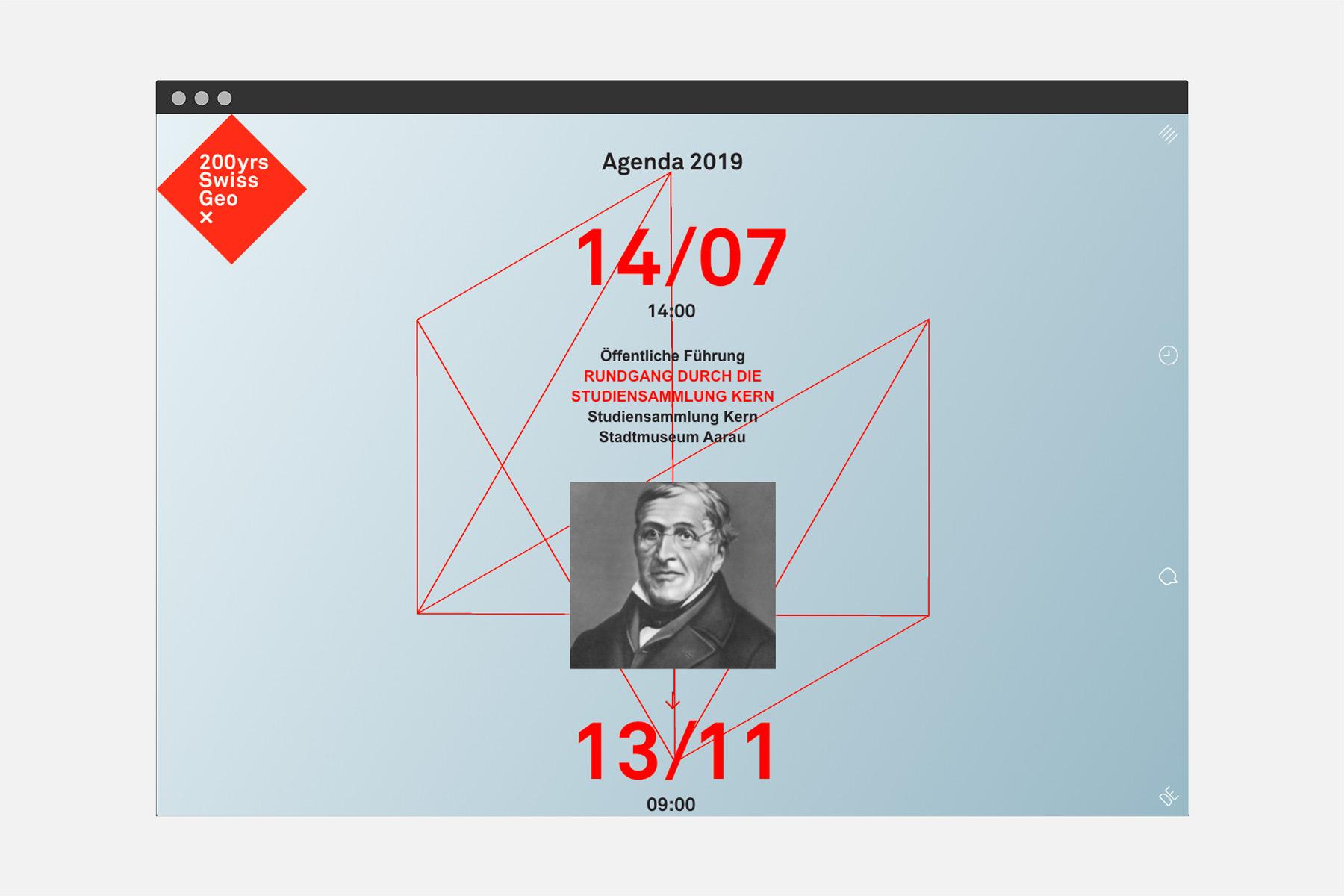 Hexagon 200 Jahre Swiss Geo x