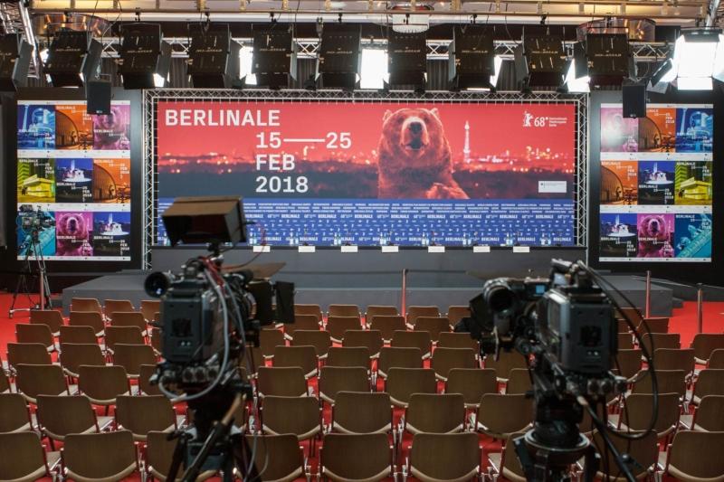Berlinale 2018 Presseraum