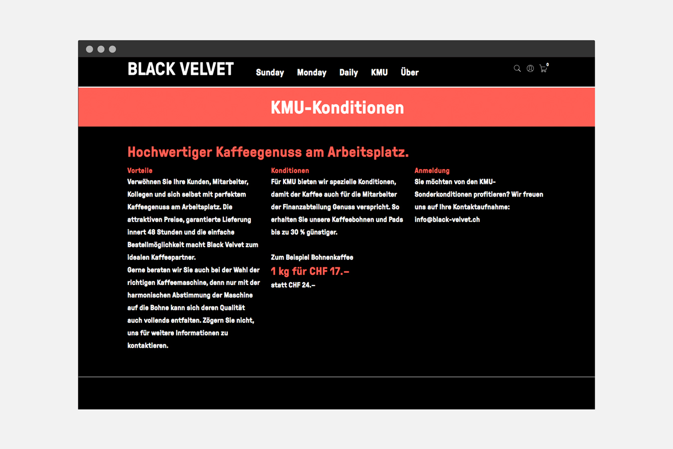 Black Velvet Website