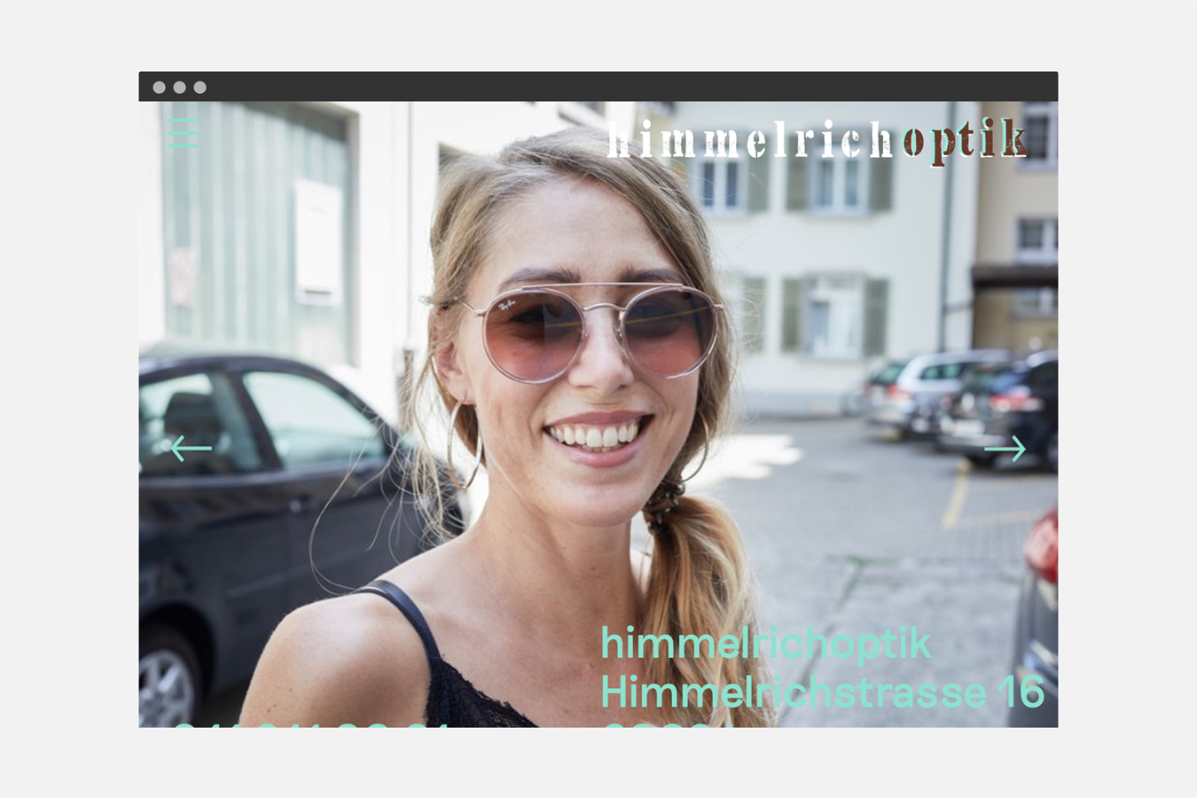 Pfistergasseoptik Himmelrichoptik Website