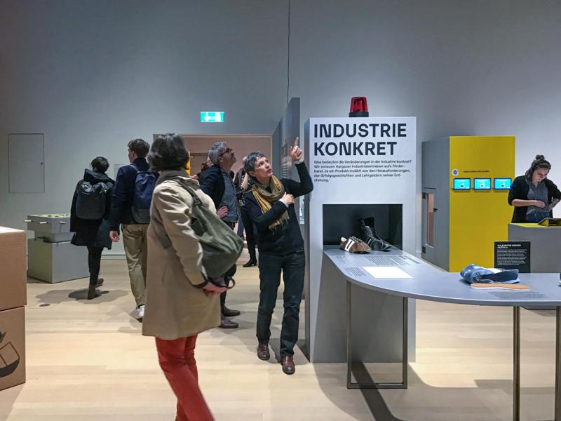 Ausstellung Robozän